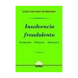 Insolvencia Fraudulenta. Jorge E. Buompadre