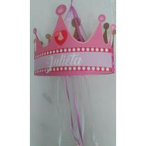 Piñata Artesanal Personalizada Cumpleaños Corona Princesa