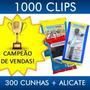 Nivelador De Piso Porcelanato 1000 Clips+300 Cunhas + Alicat