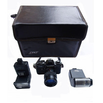 Máquina Fotográfica Yashica Antiga - Artigo P/ Colecionador