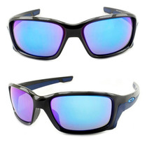 Óculos De Sol Masculino Oakley Straightlink Polished Black
