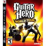 Guitar Hero World Tour Ps3 100% Nuevo Sellado - Juego Fisico