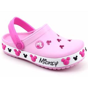 Crocs Original Crocband Infantil Mickey Iv Kids Loja Pixolé