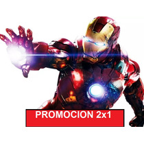 Kit Imprimible Iron Man Fiesta 2x1