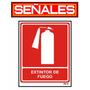 Señalizacion Industrial - Avisos - Extintor De Fuego