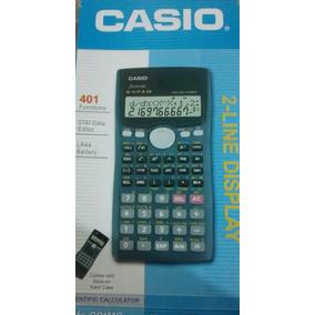Calculadora Científica Casio Fx-991ms Plus 401 Funciones