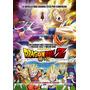 Poster Cine Original Afiche Dragon Ball Z / Batalla Dioses