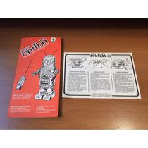 Manual Do Robô Artur Da Estrela - Completo Em Pdf