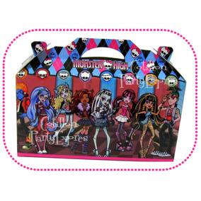 Souvenirs Infantiles Monster High Cajitas Bolsita Golosinera