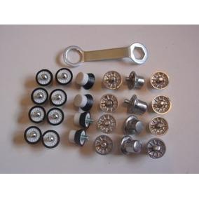 Kit Chave Travas Borracha E Alumínio Chuteira adidas 1magnus