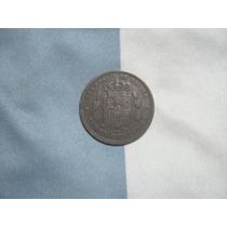 España Cobre 5 Centimos 1877 Alfonso Xii