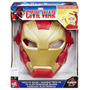 Máscara Eletrônica Homem De Ferro Capitão América Civilw