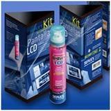 Kit Limpiador De Telefonos Pulverizador + 15 Paños Servex