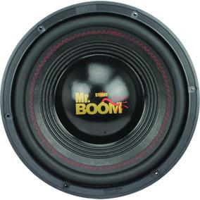 Subwoofer 12 Polegada Mr. Boom 600w Rms 4x4 Ohms Falante Som