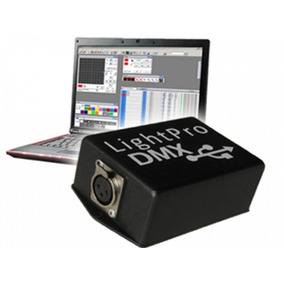 Interface Dmx Usb Gbr Light Pro