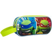 Lapicera Escolar Moda Tortugas Ninja Tt62404f Verde Urbania