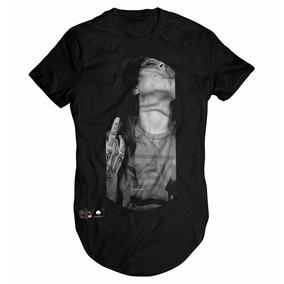 Camisa Camiseta Blusa Longa Oversized Swag Longline Girl Fku