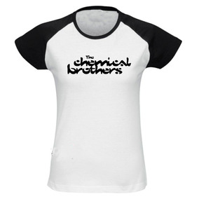 Baby Look The Chemical Brothers - Camiseta Raglan Eletro R2