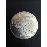 Moneda De Plata Elizabeth Montreal 1976