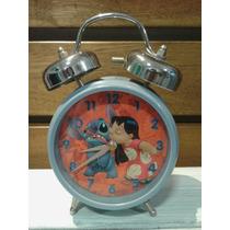 Reloj Despertador Infantil Lilo Y Stich