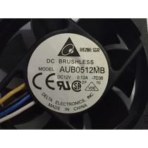 Fan Delta Aub0512mb 12v 0.12a Cooler Pwm 4 Fios Ibm Dell Hp
