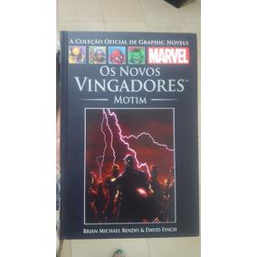 Graphic Novel Marvel #42 Os Novos Vingadores Motim - Salvat
