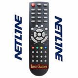Controle Remoto Net Line X95 Hd Premium