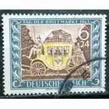 C@- Tercer Reich - Día Del Sello - Michel # 828 - Usado -
