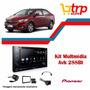Multimidia Prisma 2017 Pioneer Avh 288bt Dvd 2din Lançamento