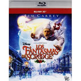 Los Fantasmas De Scrooge Disney A Christmas Carol Blu-ray 3d