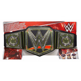 Wwe Cinturon Campeon Heavyweight Mattel Original