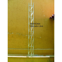 Tramo De Torre Arriostrada Mod Tz30 3mts X 30cm, Galvanizada