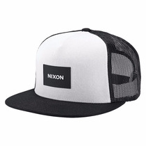 Gorra Nixon C2167-005-00 Trucker Team Black White