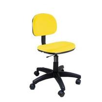 Promoção De Cadeira Secretária Giratória Amarela Tsmob