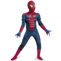 Spider-man Movie Classic Muscle Child Costume Gran Tamaño (