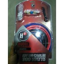 Kit De Instalacion Car Audio Calibre 8 Hf 900w