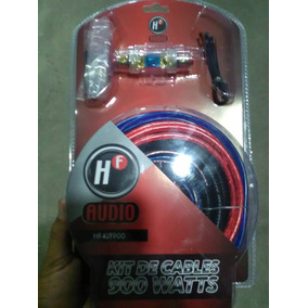Kit De Instalacion Car Audio Calibre 8 Hf 900w