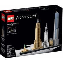 Lego Architecture 21028 Prédios De New York City Pta Entrega