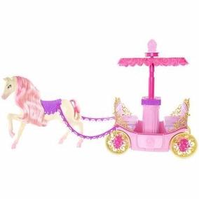 Carruagem Barbie Escola De Princesas Mattel Original - Novo!