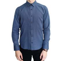 Camisa Manga Larga Estampado 3d