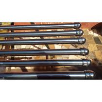 Varão Aluminio 28m Cromado 03mts C/ 06 Pcs Com Ponteiras