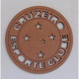 Escudo De Parede Cruzeiro Mdf 3mm