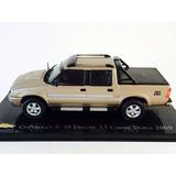 Carros Do Brasil Chevrolet S-10 Deluxe 2.5 Cabine Dupla 1/43