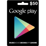 Tarjeta De Recarga 50usd Para Google Play Store