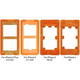 Kit 4 Moldes Para Troca De Vidro Iphone 4 4s 5 5s 5c 6 6plus