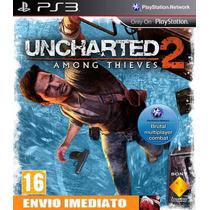 Uncharted 2: Among Thieves Cod Psn Portugues/pt Ps3 Envio Já
