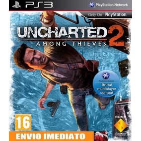 Uncharted 2: Among Thieves Cod Psn Portugues/pt Ps3 Envio Já