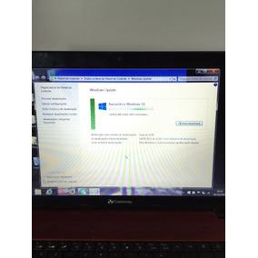 Laptop Novo Gateway Vermelho