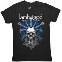 Lamb Of God - Mandala - [camiseta Oficial]