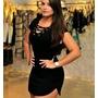 Vestido Feminino Princesa Panicat Blogueiras Fique Linda !!!